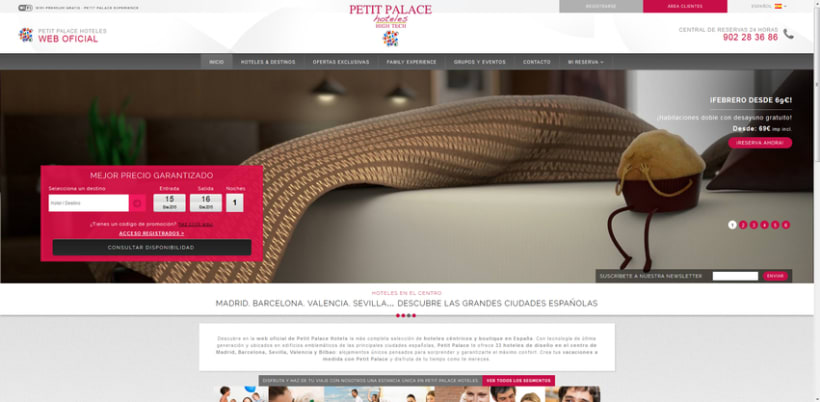 Petit Palace Hoteles - Creatividad Campaña Mailing #1: Desayuno Gratis. 5