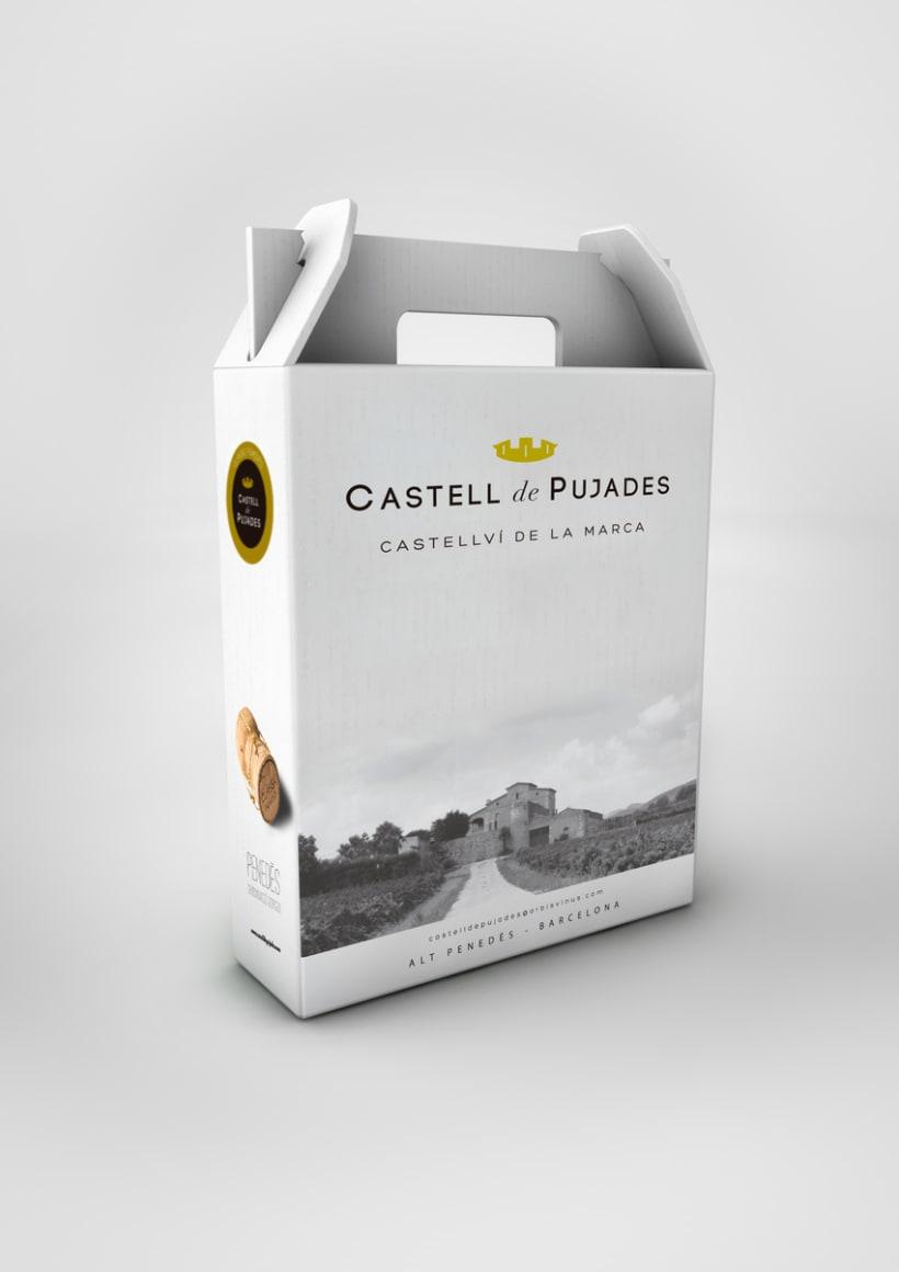 Fotografia publicitaria para cava del Penedès. Photography for 'cavas' Castellvi de Pujades packaging. 3
