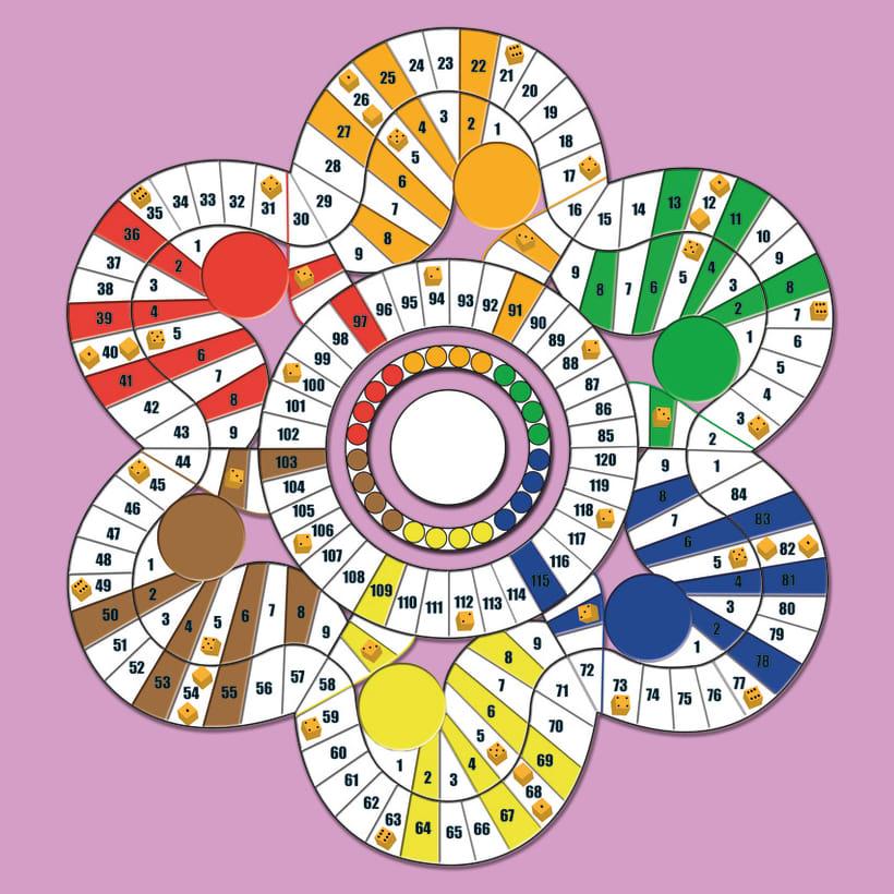 tablero juego de mesa domestika