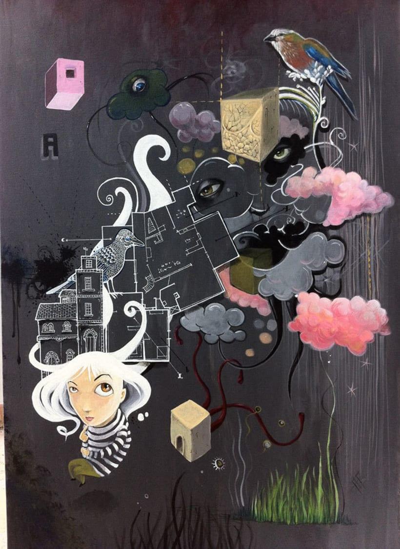 Paints on commission 1