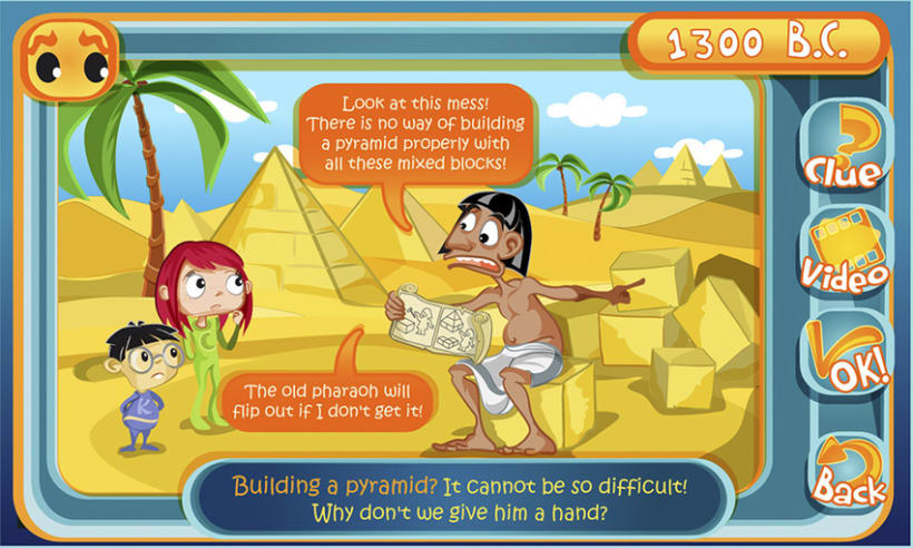 Let's get historical! (Educational App) 11