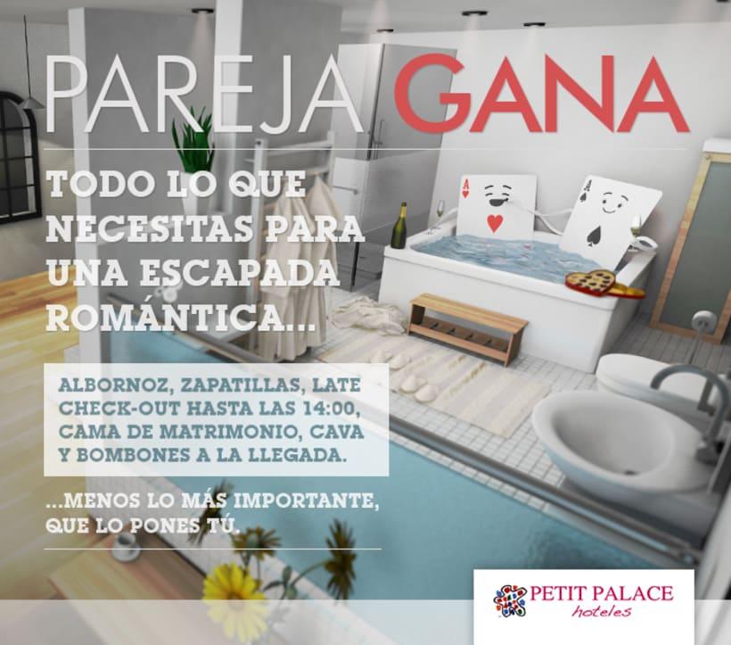 Petit Palace Hoteles - Creatividad Campaña Mailing #2: Experiencia de Pareja. 3