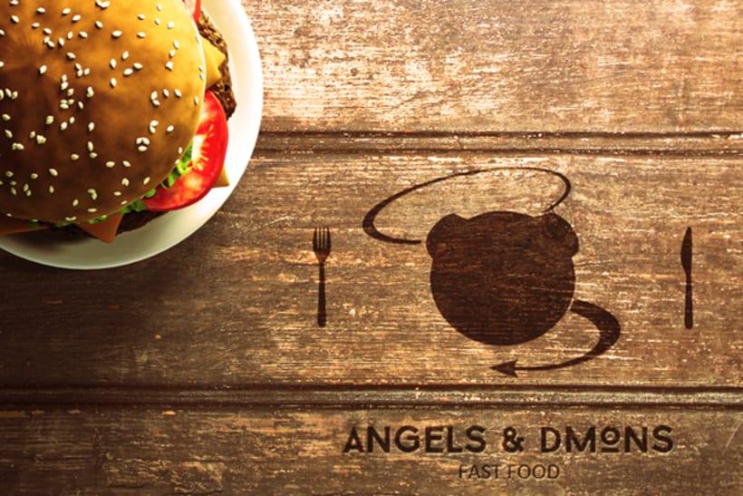 ANGELS & DMONS FAST FOOD RESTAURANT -1