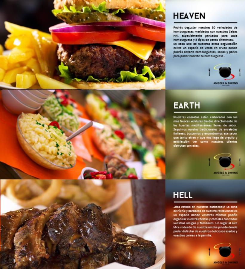 ANGELS & DMONS FAST FOOD RESTAURANT 9