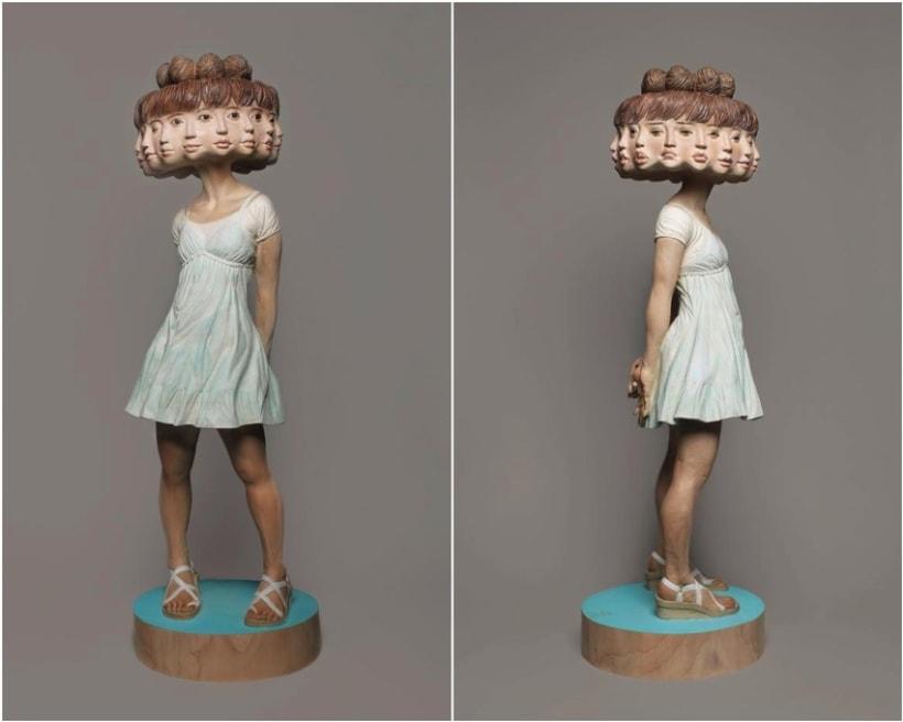 Paso a paso de una escultura del japonés Yoshitoshi Kanemaki 4