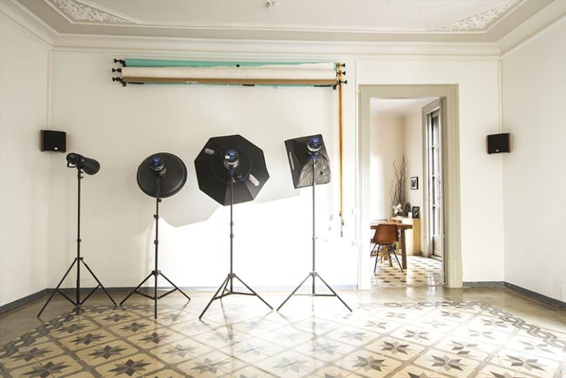 Alquiler de estudio fotográfico en el Barrio Gótico 1