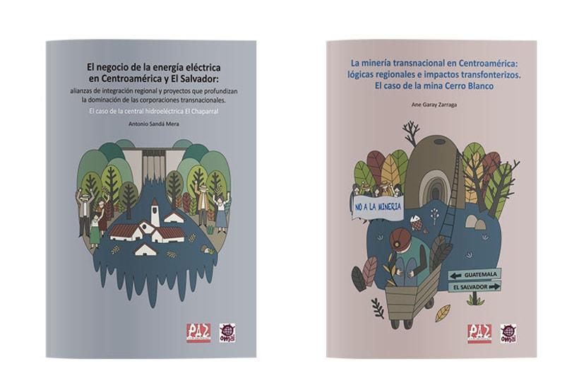 Serie de portadas ilustradas 1