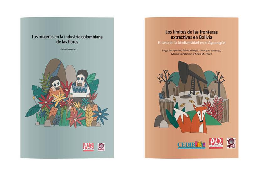 Serie de portadas ilustradas 4
