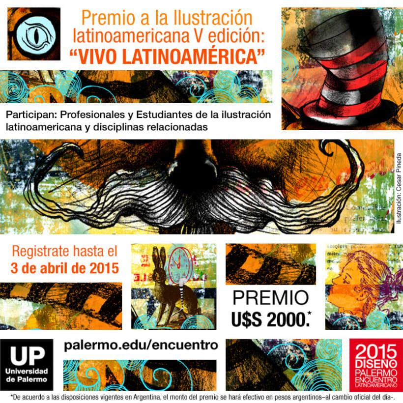 Concurso Ilustración Latinoamericana UP - 5ª edición 1
