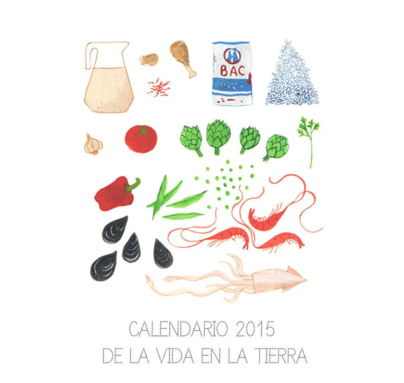 Calendario 2015 de la vida en la Tierra 0