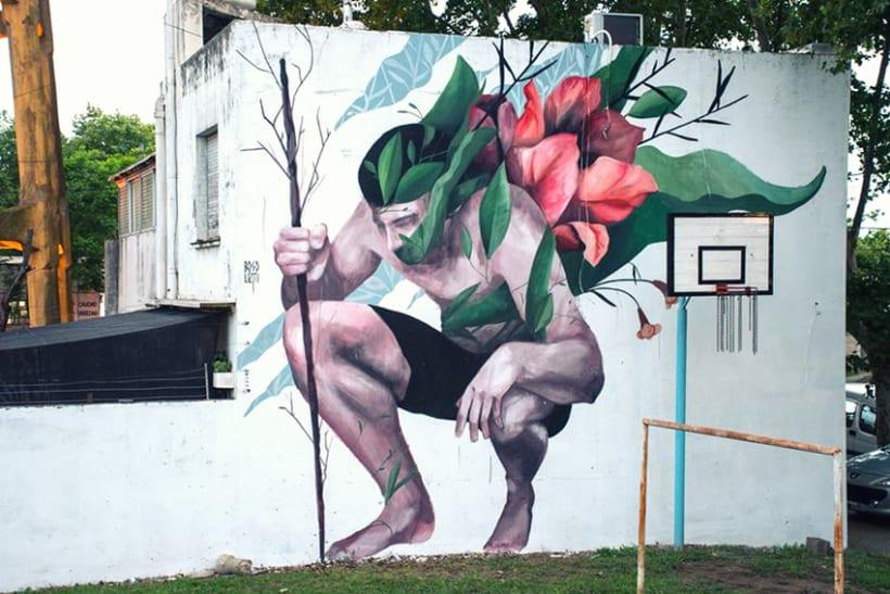 Fran Bosoletti es un street artist argentino 2