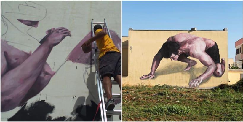Fran Bosoletti es un street artist argentino 3