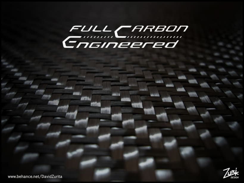 Logo/ serigrafia para bicicleta: Full Carbon Engineered. 3