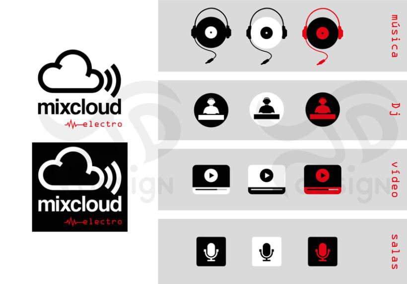 Mixcloud Electro. Diseño de APP para dispositivos móviles 0