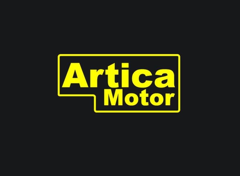 Branding Artica Motor 0