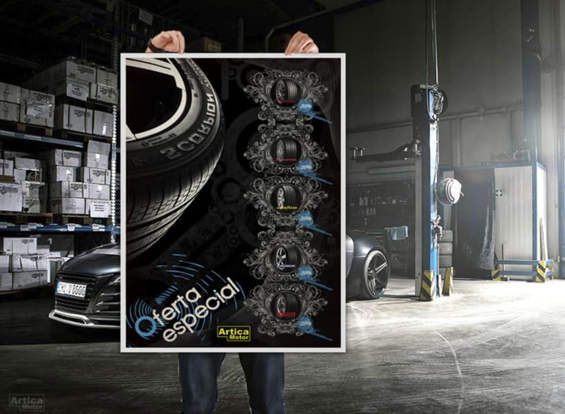 Branding Artica Motor 7