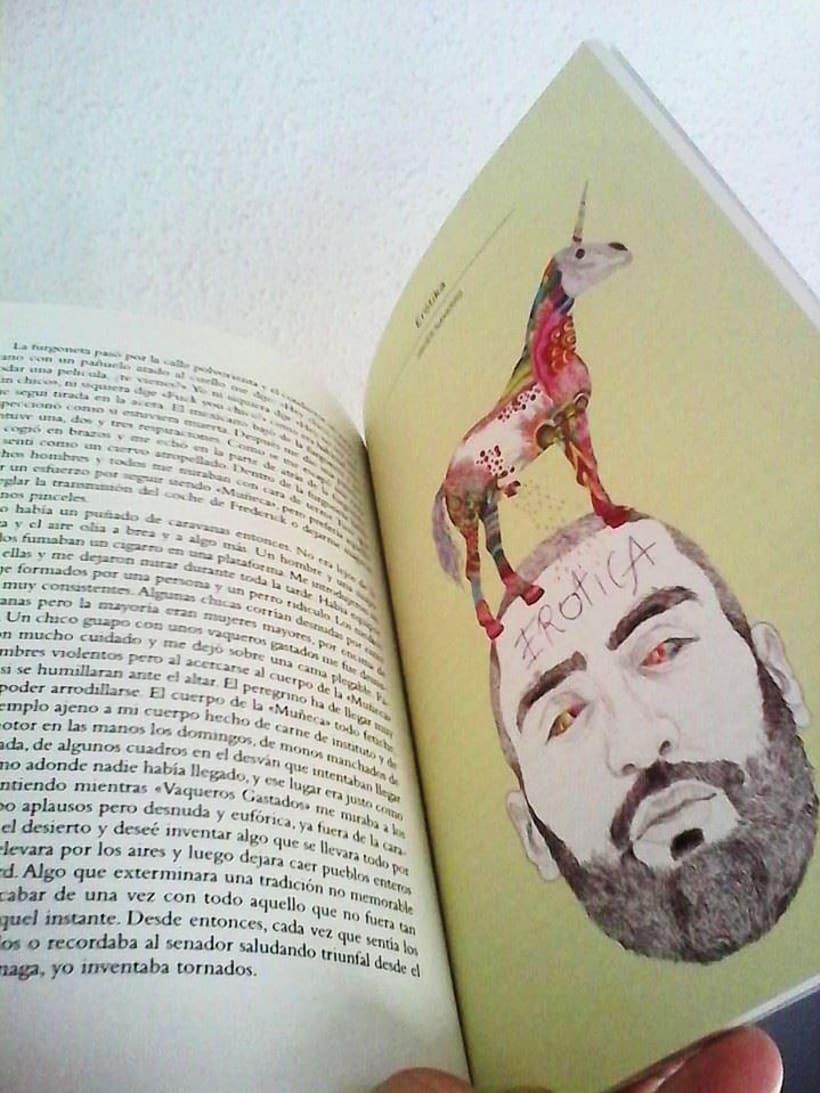 Ilustraciones para la revista Telegráfica de la editorial Maclein y Parker 0