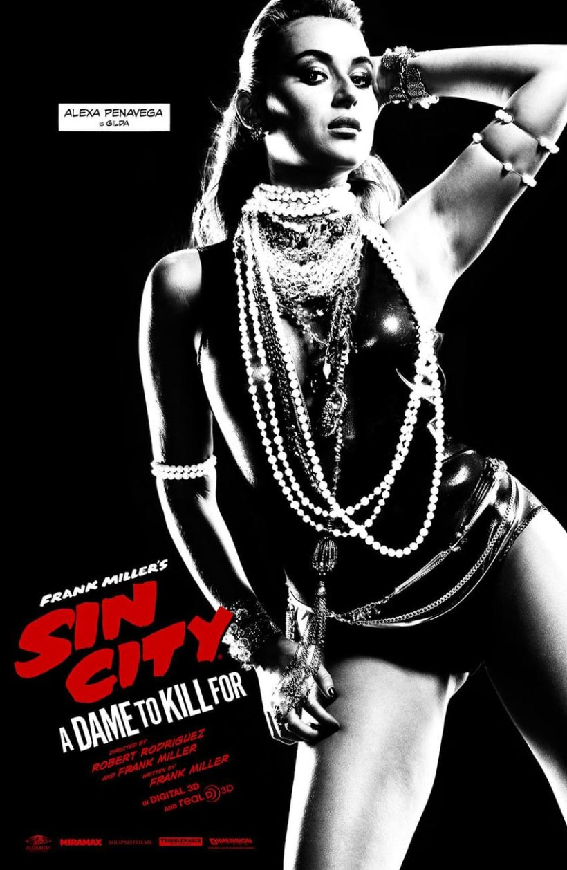 Sin City: A Dame to Kill For -  Posters 9