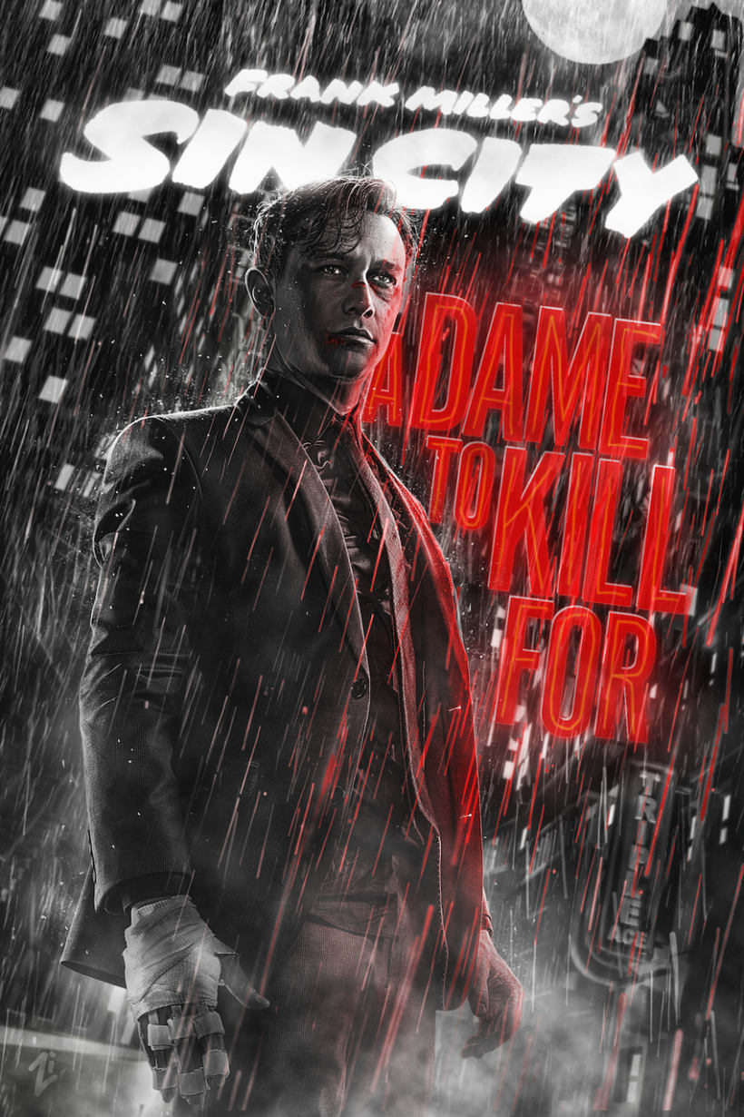 Sin City: A Dame to Kill For -  Posters 12