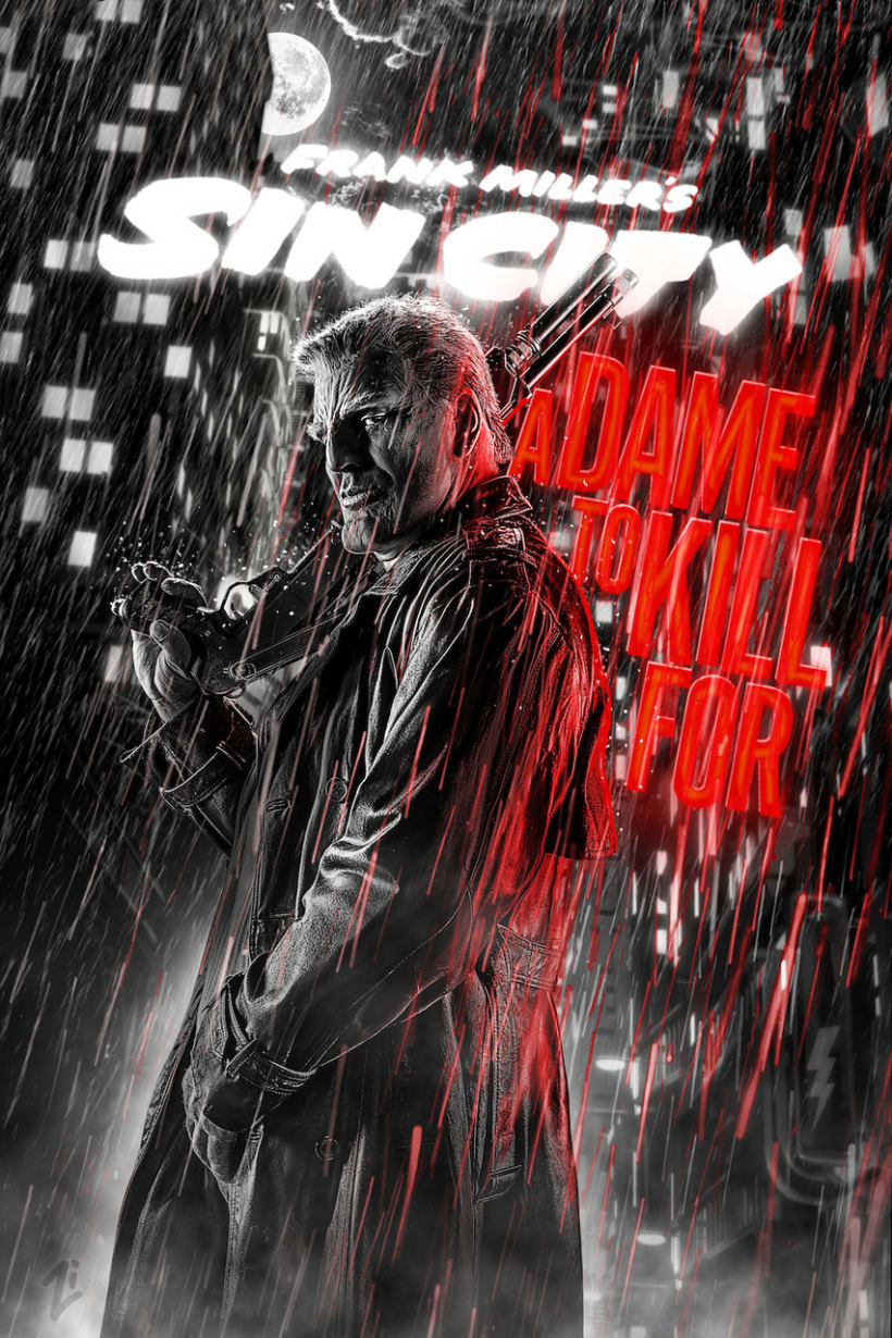 Sin City: A Dame to Kill For -  Posters 13