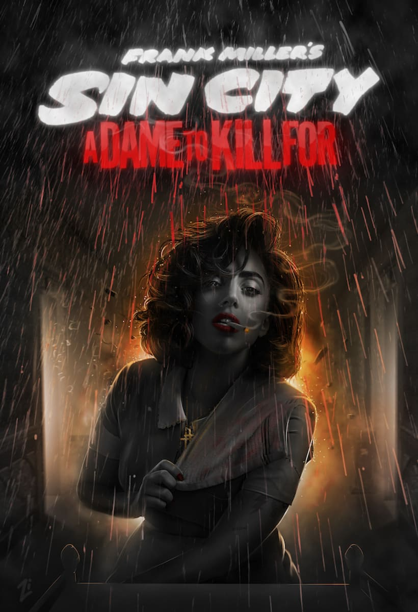 Sin City: A Dame to Kill For -  Posters 14