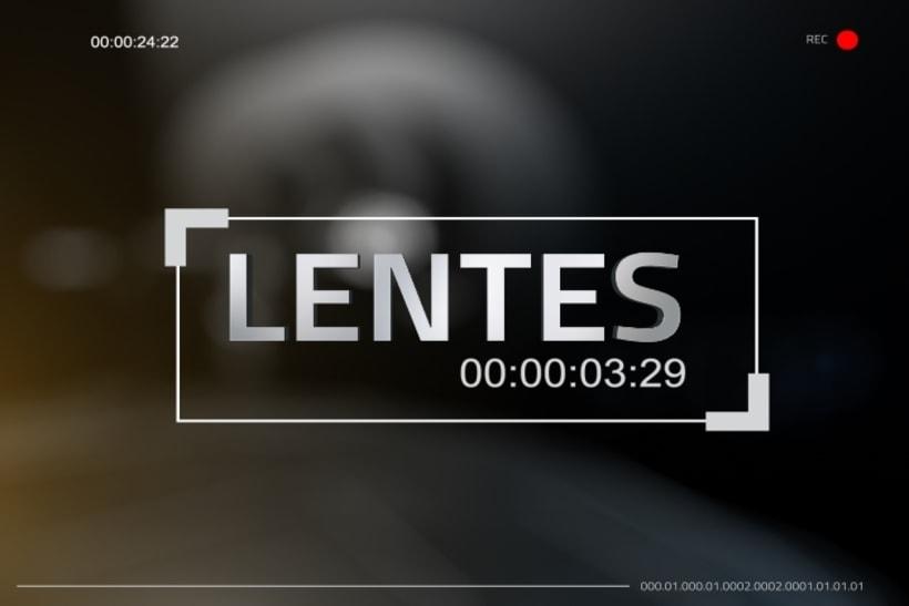 Lentes. Programa TV. -1