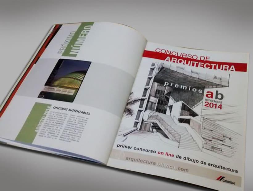 Diseño Editorial - Revista de arquitectura 7