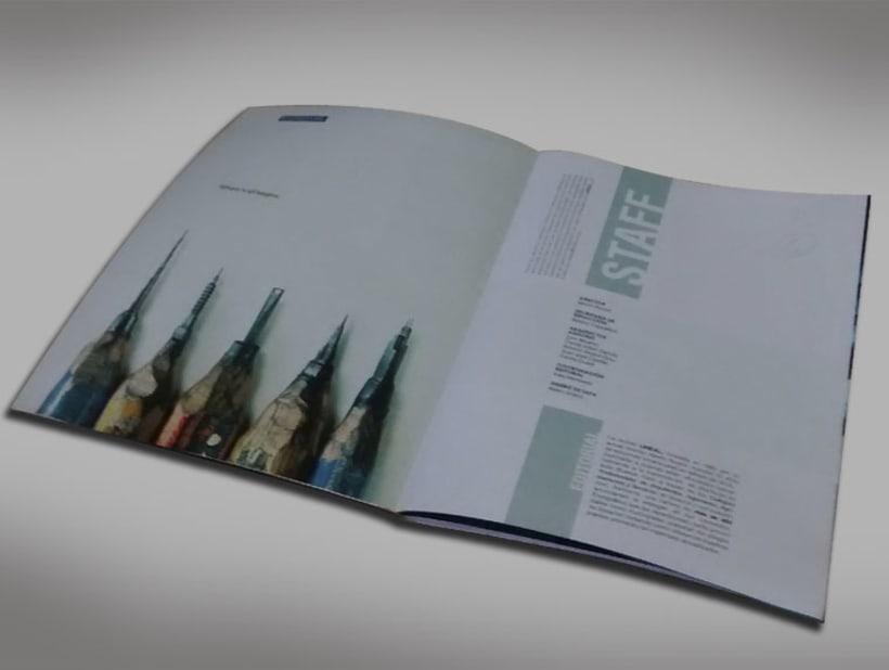 Diseño Editorial - Revista de arquitectura 1