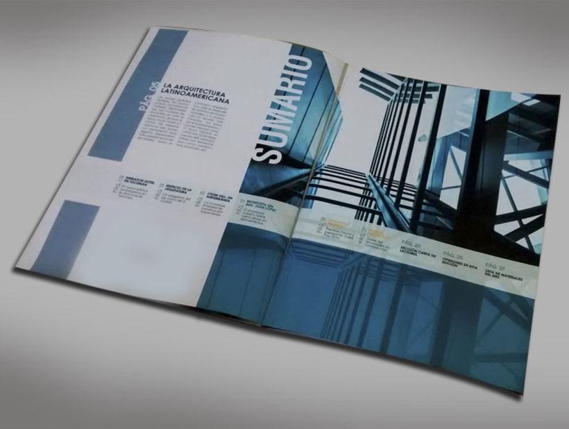 Diseño Editorial - Revista de arquitectura 2