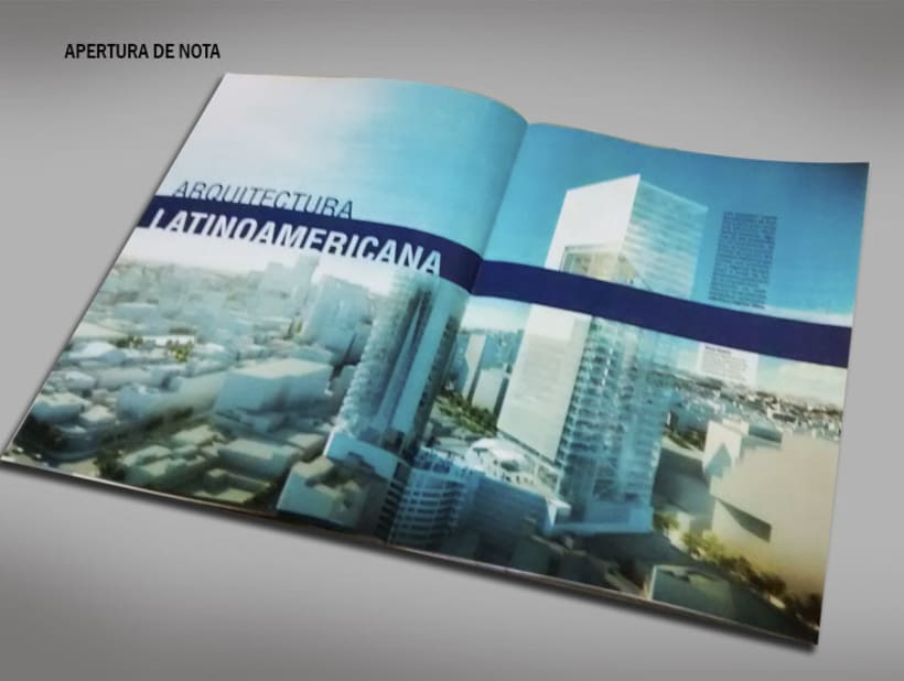 Diseño Editorial - Revista de arquitectura 3