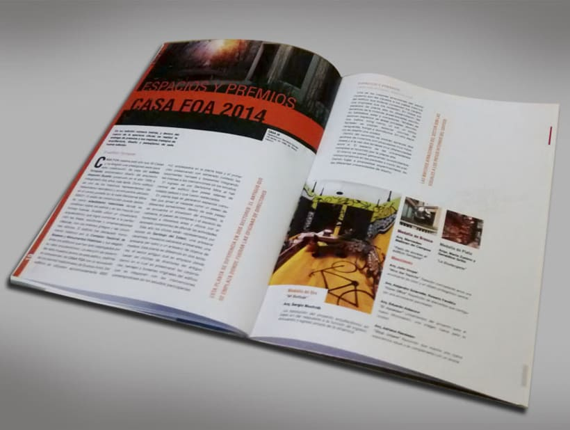 Diseño Editorial - Revista de arquitectura 6