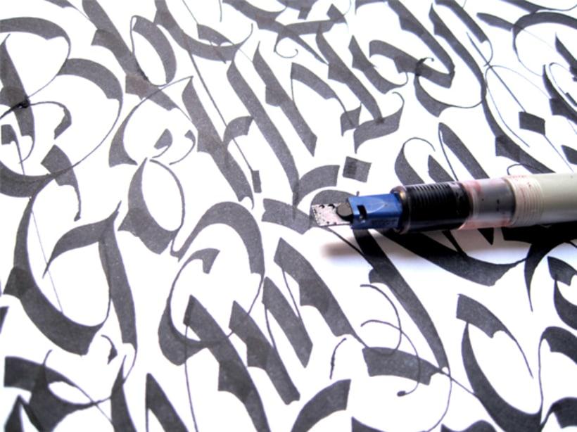Parallel Pen Alphabet 2