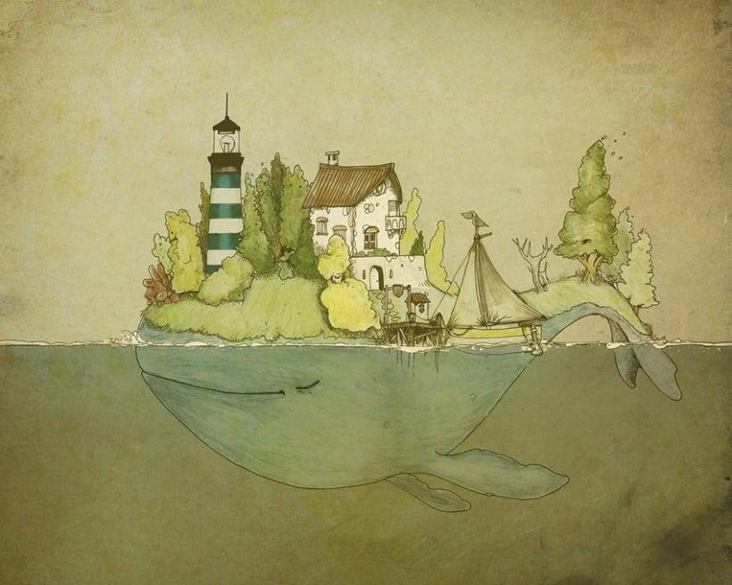 Ilustración: The Whale -1