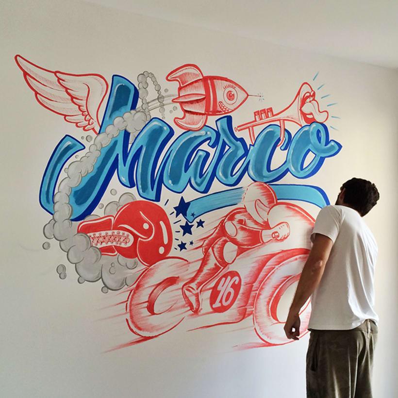 Murales y pinturas 3
