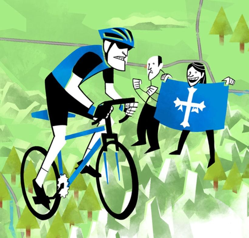 Fitur. Mapa Asturias Deportes. 2