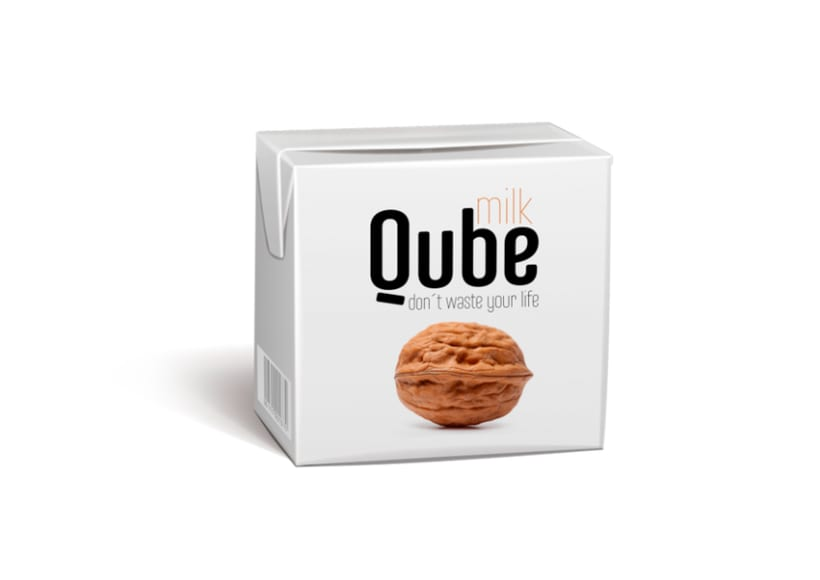 Qube Milk: Don´t waste your life 1