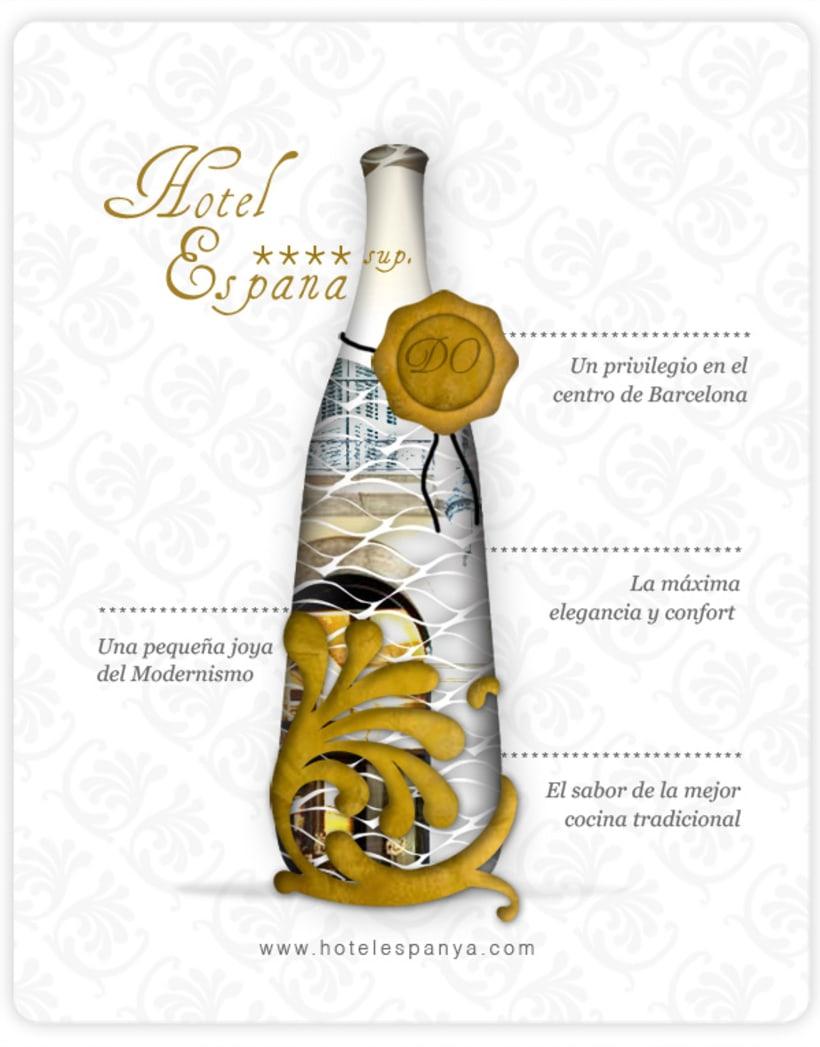 Newsletters para Hotel España 2