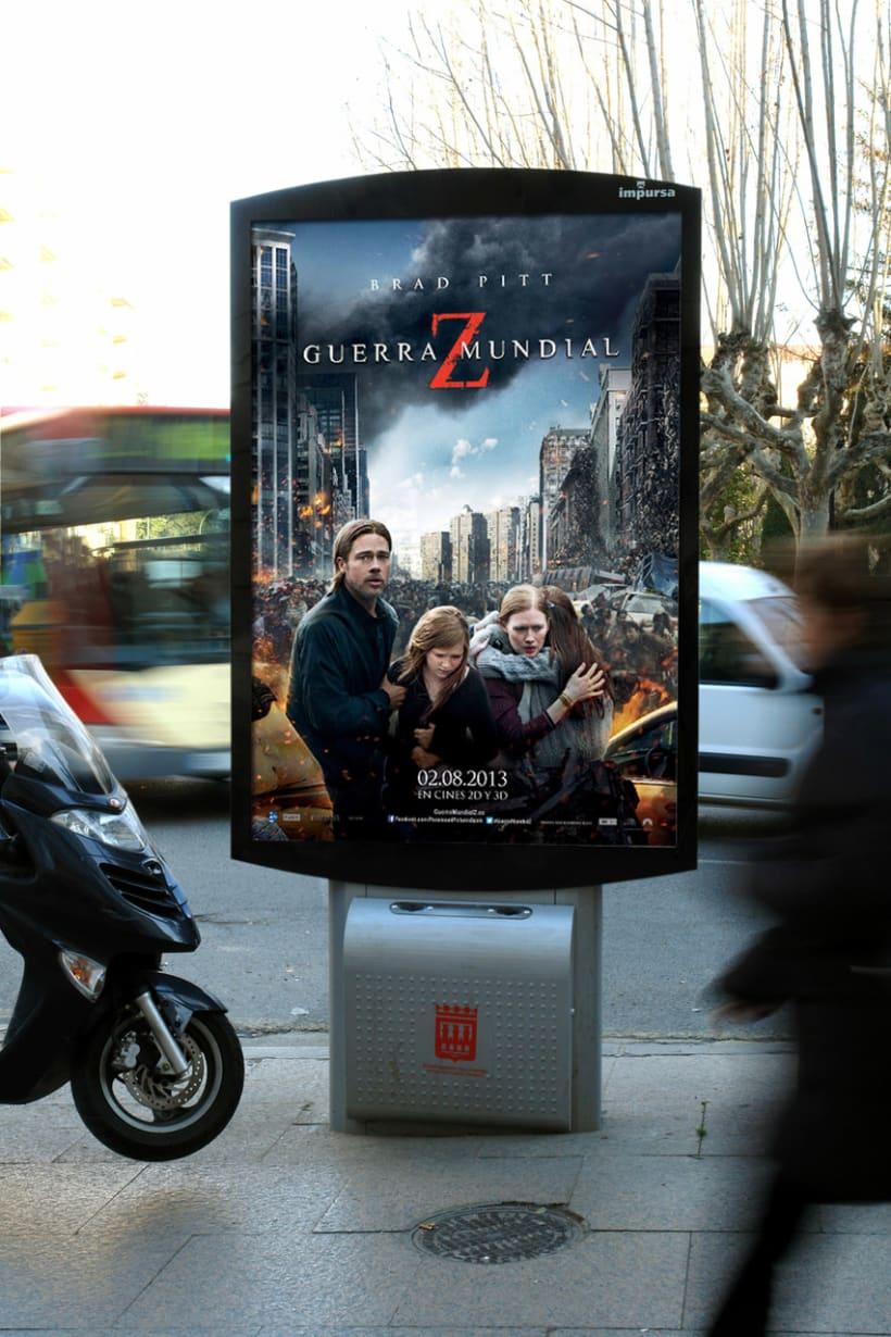 Guerra Mundial Z - Paramount Pictures Spain 2