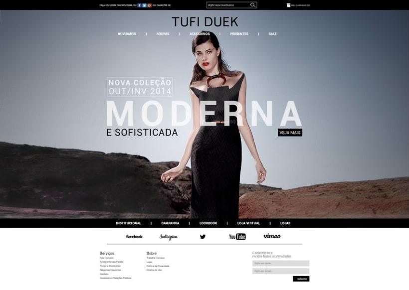 Web Tufi Duek Brasil - Tienda online 2014 -1