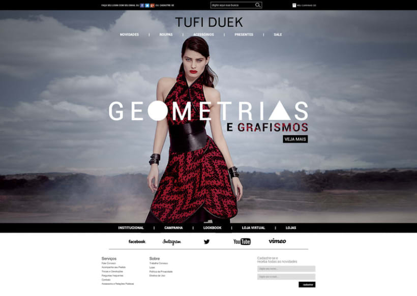Web Tufi Duek Brasil - Tienda online 2014 0