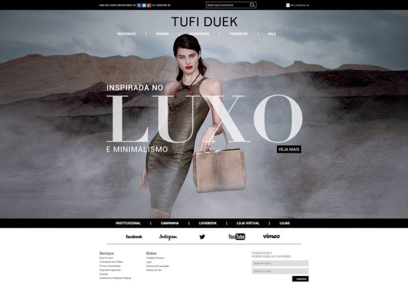 Web Tufi Duek Brasil - Tienda online 2014 1