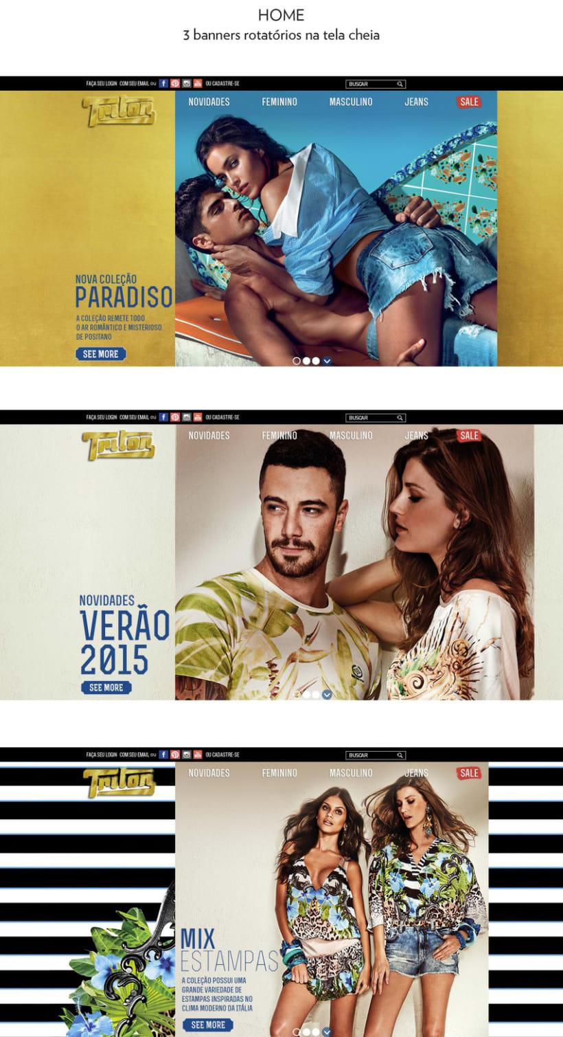 Web Triton Brasil - Tienda online 2015 -1