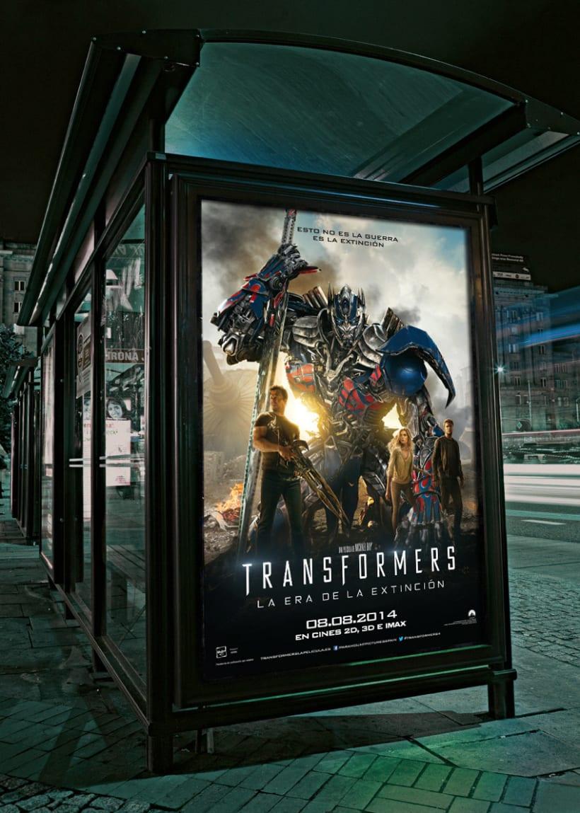 """TRANSFORMERS 4 """"La era de la extinción"""" - Paramount Pictures Spain 2"""
