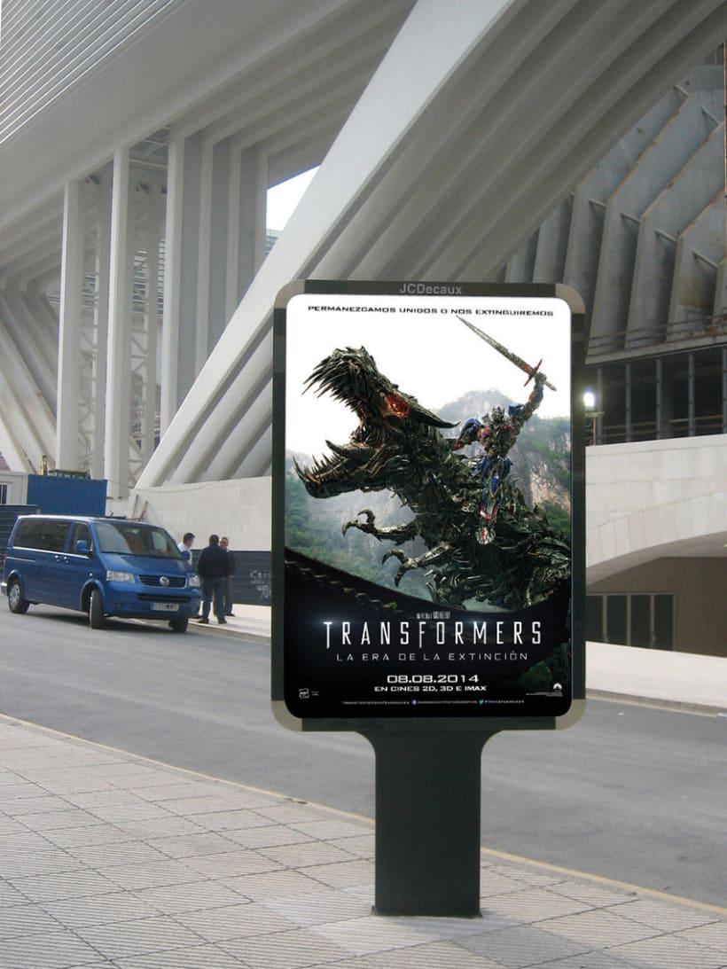 """TRANSFORMERS 4 """"La era de la extinción"""" - Paramount Pictures Spain 3"""