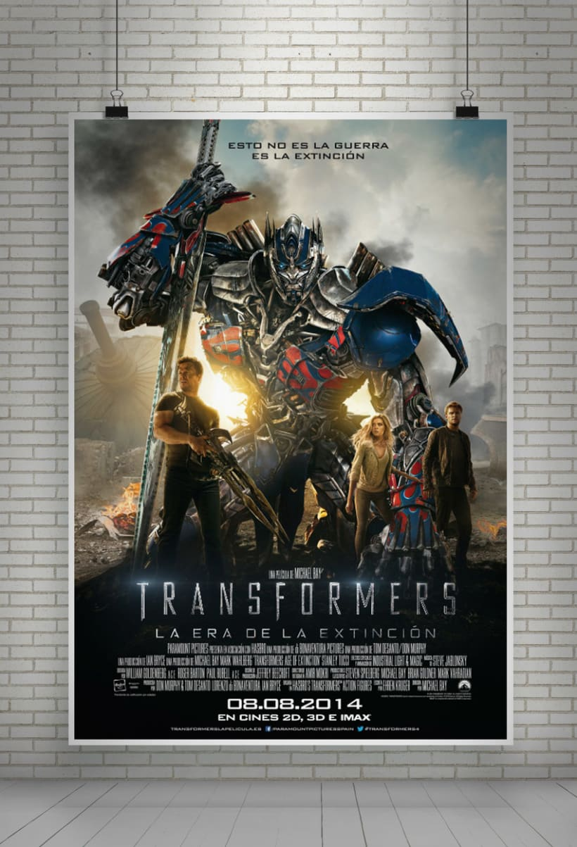 """TRANSFORMERS 4 """"La era de la extinción"""" - Paramount Pictures Spain 1"""