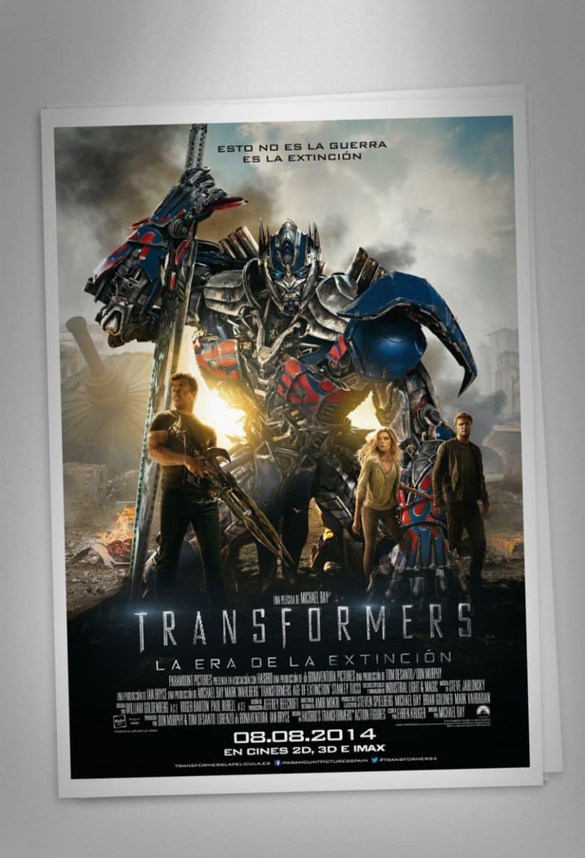 """TRANSFORMERS 4 """"La era de la extinción"""" - Paramount Pictures Spain 4"""