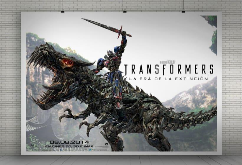 """TRANSFORMERS 4 """"La era de la extinción"""" - Paramount Pictures Spain 12"""