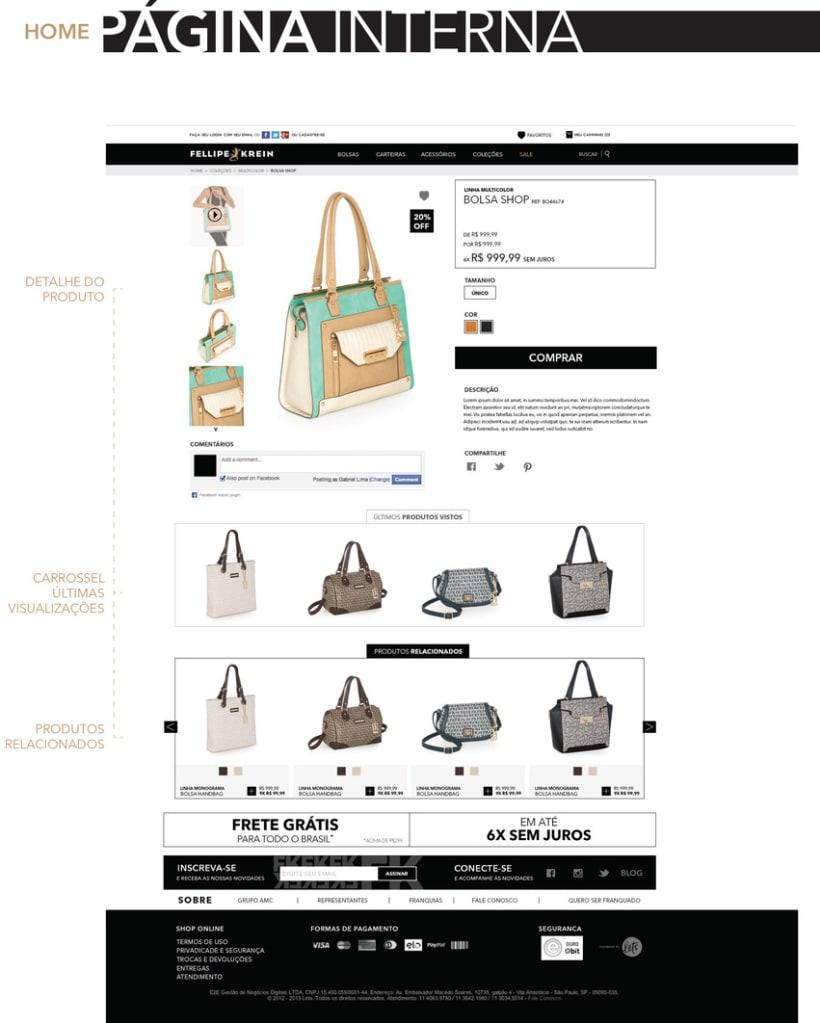 Web Felippe Krein Brasil - Tienda online 2015 3