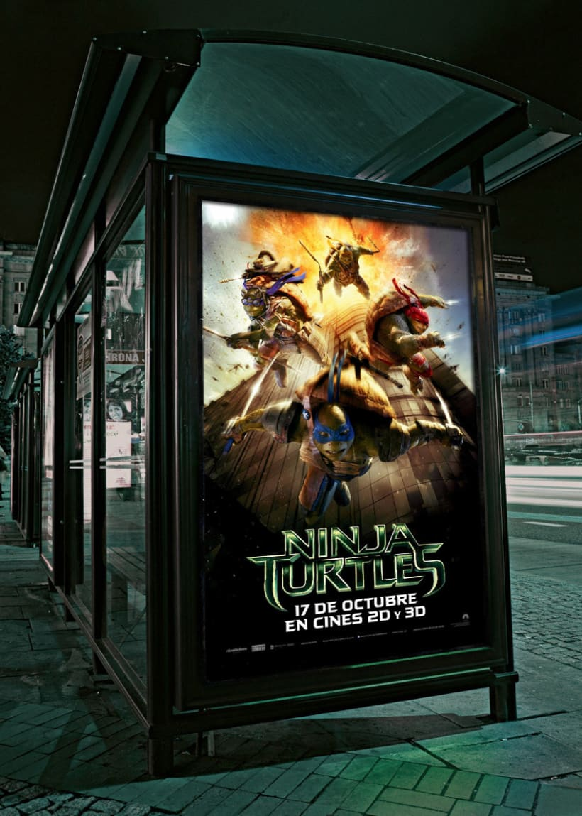 Ninja Turtles - Paramount Pictures Spain 3
