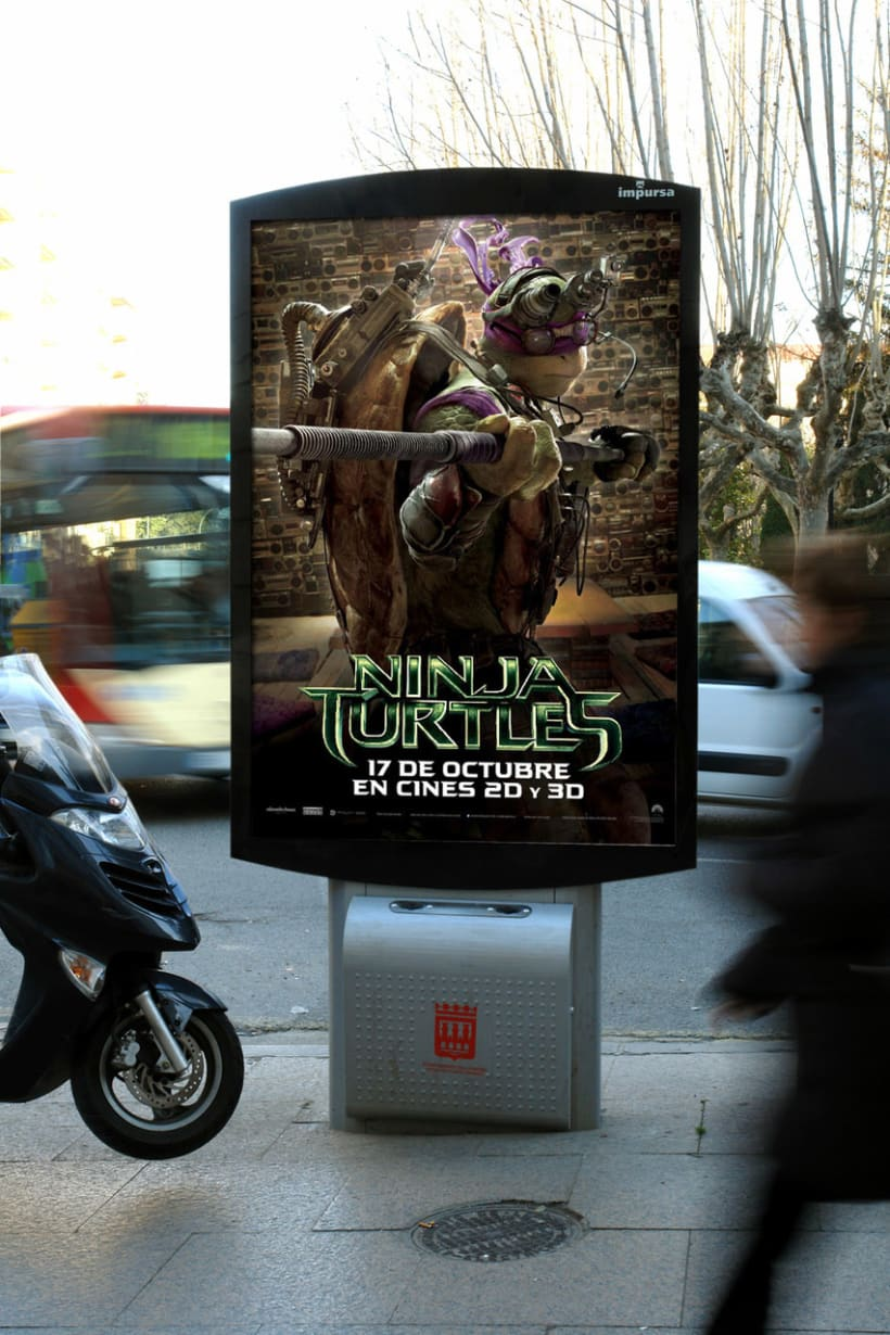 Ninja Turtles - Paramount Pictures Spain 4